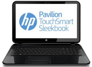 best laptops for students - HP Pavilion TouchSmart Sleekbook 15
