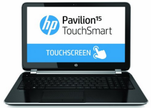 best laptops for students - HP pavillion touchsmart 15