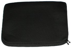 15.6 laptop sleeve - Gino Black Mesh Notebook
