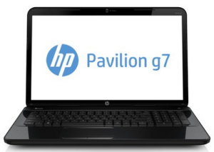 best laptop for video editing - HP Pavilion g7-2270us