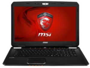 MSI gaming laptops - MSI GX70 3BE-007US