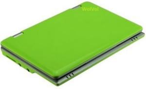 best mini laptop - WolVol LIME GREEN