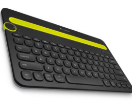 best wireless keyboard - Logitech Bluetooth Multi-Device Keyboard K480