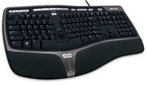 best ergonomic keyboard - Microsoft Natural Ergonomic Keyboard 4000