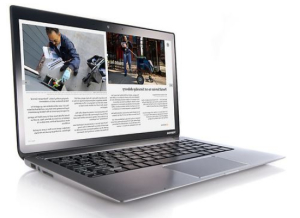best thin laptops - toshiba kirabook 13