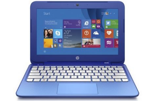 HP stream 11 review - front