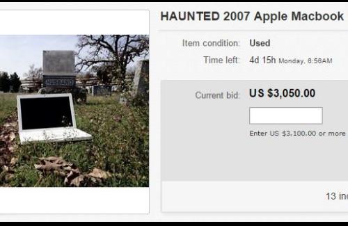 haunted laptop