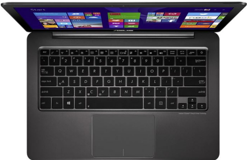 Asus Zenbook UX305 review - top