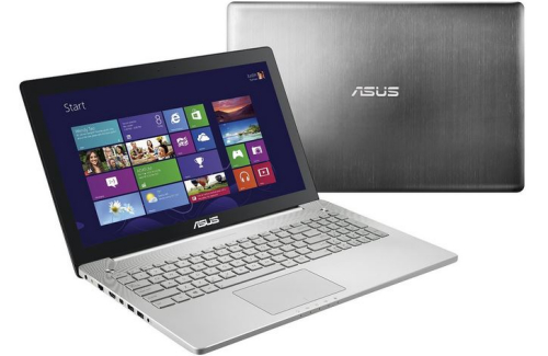 ASUS N550JK-DS71T review - front back