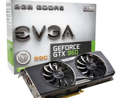 Video Card - EVGA GeForce GTX 960 SuperSC