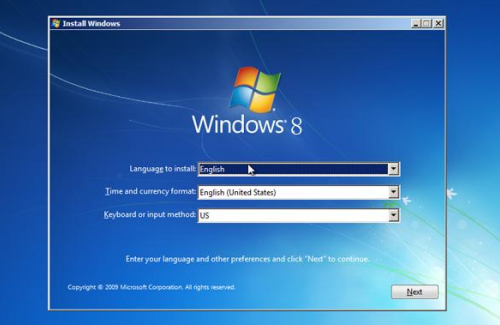 reinstalling windows 8