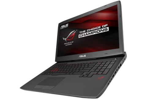 Asus G751JY review - side