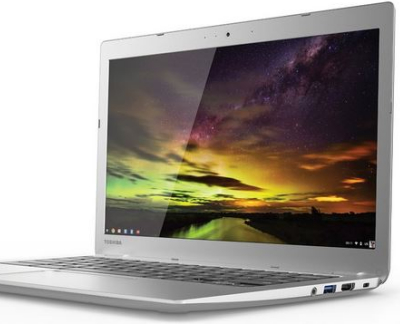 Toshiba chromebook 2 review - side