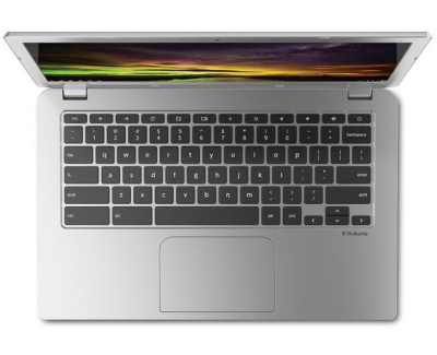 Toshiba chromebook 2 review - top