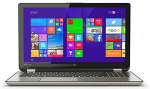 best hybrid laptop - Toshiba satellite radius 15
