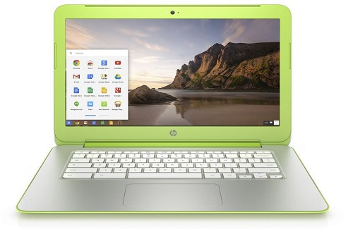 HP Chromebook 14 Review - front