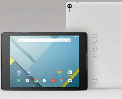 Top 5 Best Tablets For Users - HTC Nexus