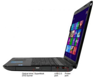 HP Pavilion G7-2240us - side