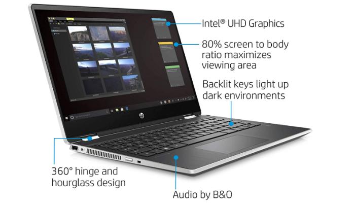 HP X360 14 - best laptop under 700