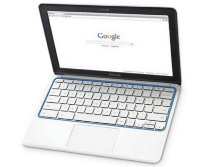 HP chromebook 11 review top view