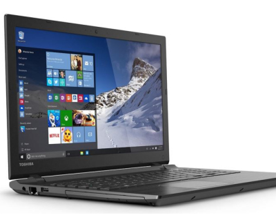 toshiba satellite c55 review - side view