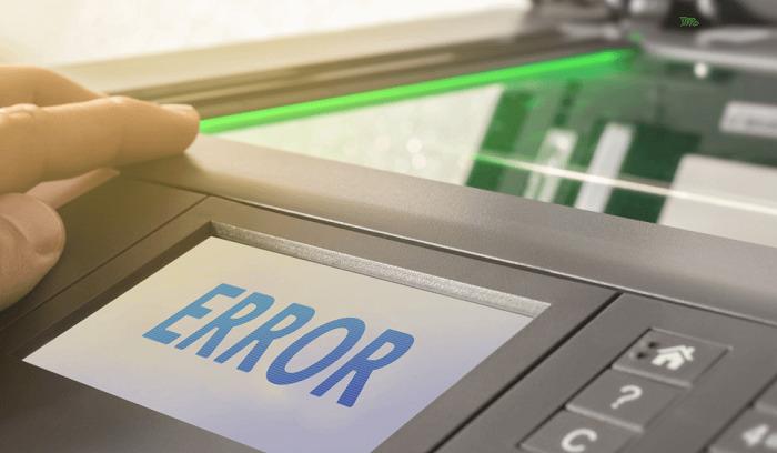 printer jam error